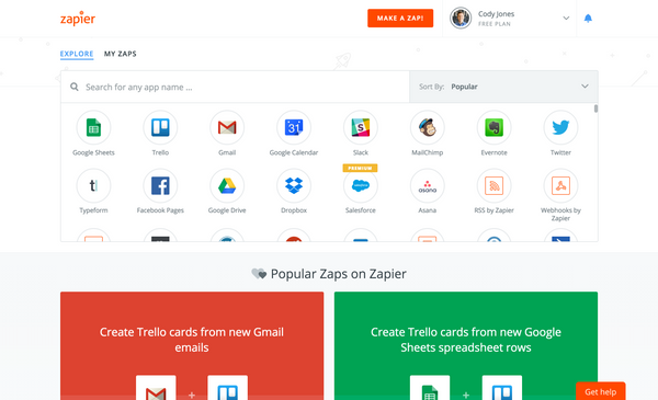 Integrating Your App with Zapier
